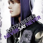 """Poster for the movie """"Justin Bieber: Never Say Never"""""""