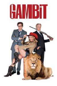 "Poster for the movie ""Gambit"""
