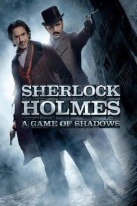 "Poster for the movie ""Sherlock Holmes: A Game of Shadows"""