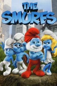 "Poster for the movie ""The Smurfs"""