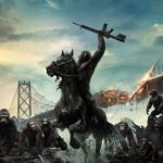 """Poster for the movie """"Dawn of the Planet of the Apes"""""""