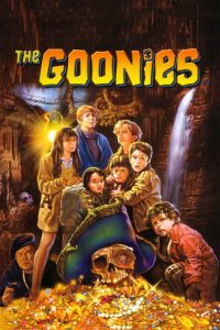 "Poster for the movie ""The Goonies"""
