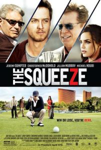 "Poster for the movie ""The Squeeze"""