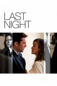 "Poster for the movie ""Last Night"""