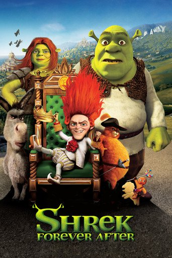"""Poster for the movie """"Shrek Forever After"""""""