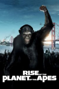 "Poster for the movie ""Rise of the Planet of the Apes"""