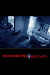 "Poster for the movie ""Paranormal Activity 2"""