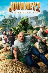 "Poster for the movie ""Journey 2: The Mysterious Island"""