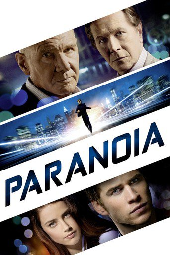 """Poster for the movie """"Paranoia"""""""