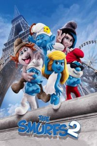 "Poster for the movie ""The Smurfs 2"""