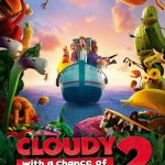 "Poster for the movie ""Cloudy with a Chance of Meatballs 2"""