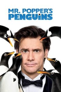 "Poster for the movie ""Mr. Popper's Penguins"""