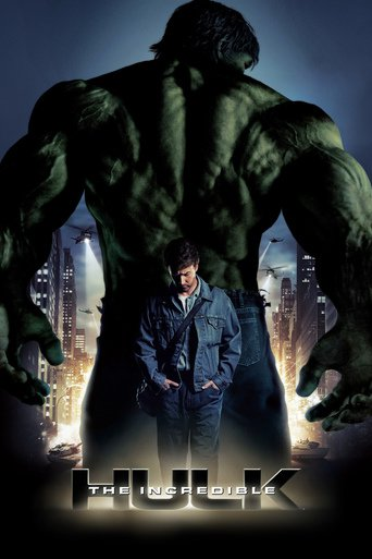 """Poster for the movie """"The Incredible Hulk"""""""