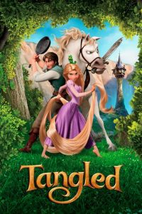 "Poster for the movie ""Tangled"""