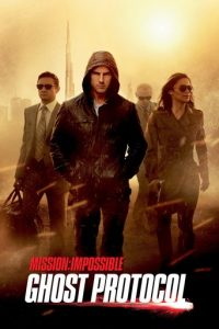 "Poster for the movie ""Mission: Impossible - Ghost Protocol"""