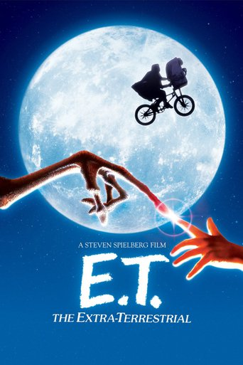 "Poster for the movie ""E.T. the Extra-Terrestrial"""