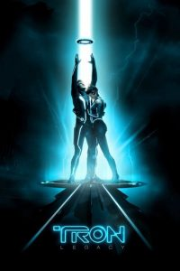 "Poster for the movie ""TRON: Legacy"""