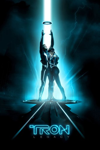 """Poster for the movie """"TRON: Legacy"""""""