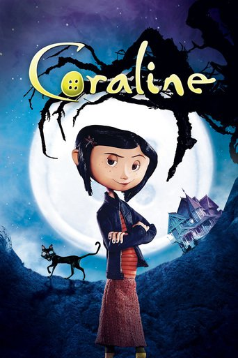 """Poster for the movie """"Coraline"""""""