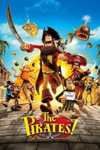 "Poster for the movie ""The Pirates! In an Adventure with Scientists!"""