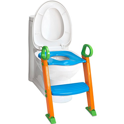Den Haven Potty Toilet Seat With Step Stool Ladder 2 In 1 Trainer For Kids A