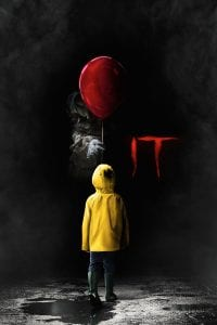 "Poster for the movie ""It"""