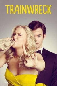 "Poster for the movie ""Trainwreck"""