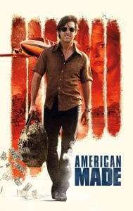 "Poster for the movie ""American Made"""