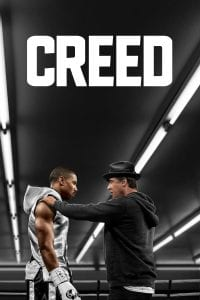"Poster for the movie ""Creed"""