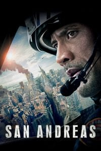 "Poster for the movie ""San Andreas"""