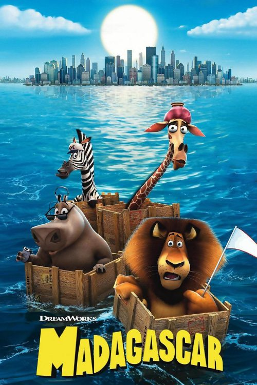 """Poster for the movie """"Madagascar"""""""