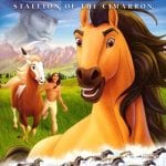 "Poster for the movie ""Spirit: Stallion of the Cimarron"""