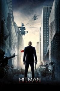 "Poster for the movie ""Hitman: Agent 47"""
