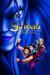 "Poster for the movie ""Sinbad: Legend of the Seven Seas"""