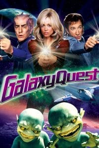 "Poster for the movie ""Galaxy Quest"""
