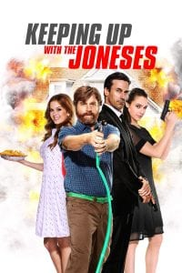 "Poster for the movie ""Keeping Up with the Joneses"""