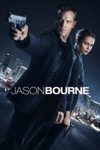 """Poster for the movie """"Jason Bourne"""""""