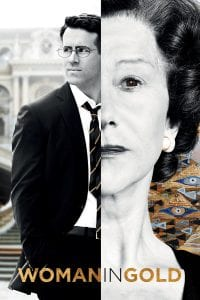 "Poster for the movie ""Woman in Gold"""