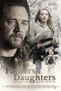 "Poster for the movie ""Fathers and Daughters"""
