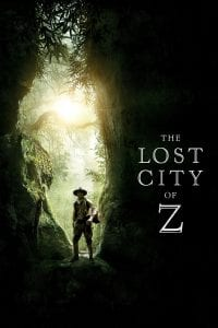 "Poster for the movie ""The Lost City of Z"""