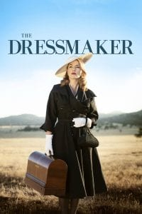 "Poster for the movie ""The Dressmaker"""