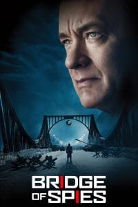 "Poster for the movie ""Bridge of Spies"""