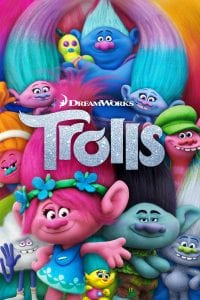 "Poster for the movie ""Trolls"""