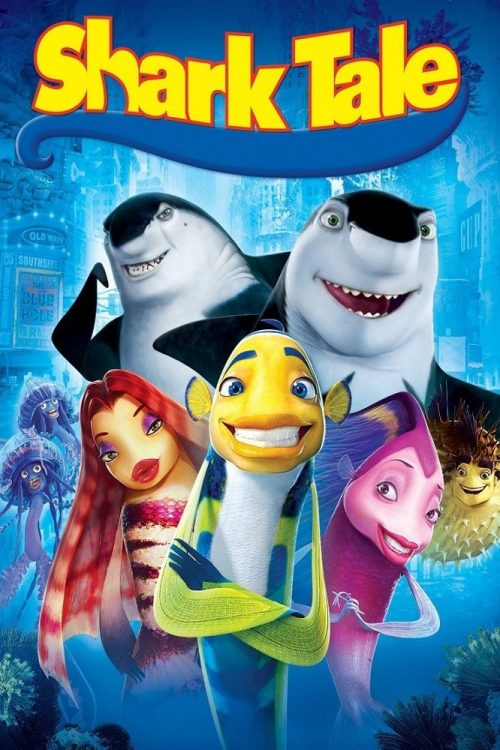 "Poster for the movie ""Shark Tale"""
