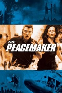 "Poster for the movie ""The Peacemaker"""