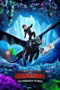 "Poster for the movie ""How to Train Your Dragon: The Hidden World"""