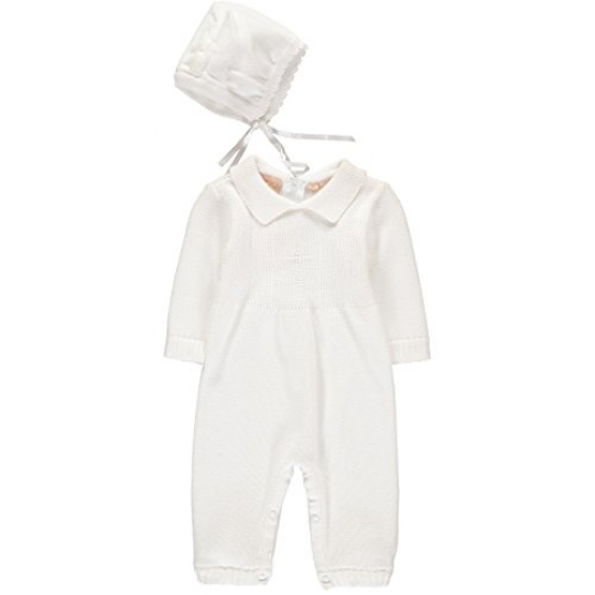 Baby-Boys-Christening-Outfit-with-Bonnet-Hat-Cross-Detail-0