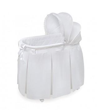 Badger-Basket-Wishes-Oval-Bassinet-Full-Length-Skirt-White-0