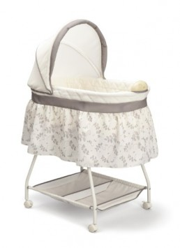 Delta-Children-Sweet-Beginnings-Bassinet-Falling-Leaves-0