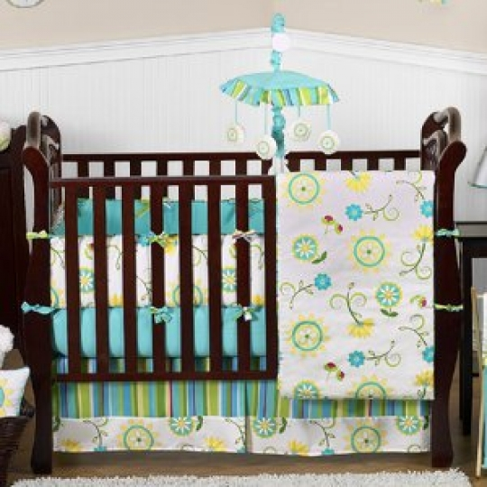 Floral-Print-Window-Valance-for-Turquoise-and-Lime-Layla-Collection-0-0
